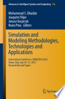 Simulation and Modeling Methodologies  Technologies and Applications