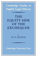 The Equity Side of the Exchequer
