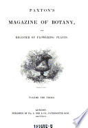 Magazine of Botany and Register of Flowering Plants