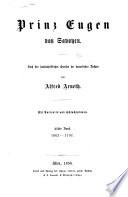Prinz Eugen Von Savoyen: Bd. 1663-1707