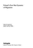 Poland s Post war Dynamic of Migration