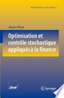illustration Optimisation et contrôle stochastique appliqués à la finance