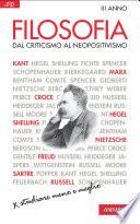 Filosofia  Dal criticismo al neopositivismo