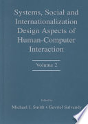 Systems  Social  and Internationalization Design Aspects of Human computer Interaction