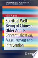 Spiritual Well Being of Chinese Older Adults
