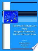 Intellectual Property Law In The European Community