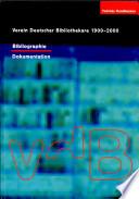 Verein Deutscher Bibliothekare 1900-2000