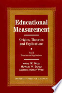 Educational Measurement  Theories and applications