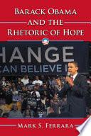 Barack Obama and the Rhetoric of Hope