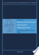 Protein Adaptations And Signal Transduction book