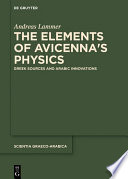 The Elements of Avicenna s Physics