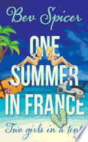 Book One Summer in France  two girls in a tent