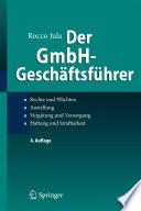 Der GmbH Gesch  ftsf  hrer