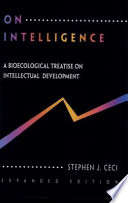 On Intelligence . . . More or Less