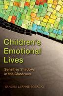 Children's Emotional Lives