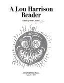 A Lou Harrison Reader