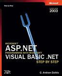 Microsoft ASP NET Programming with Microsoft Visual Basic  NET Step by Step