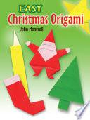 Easy Christmas Origami