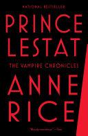 Prince Lestat-book cover