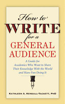 How to Write for a General Audience