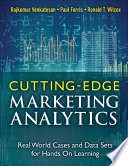 Cutting Edge Marketing Analytics