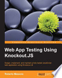 Web App Testing Using Knockout JS