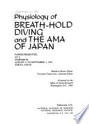 Physiology of Breath hold Diving and the Ama of Japan