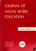 Journal of Social Work Education