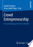 Crowd Entrepreneurship