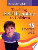 Teaching Self Discipline to Children