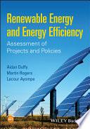 Renewable Energy and Energy Efficiency