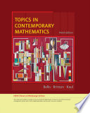 Topics in Contemporary Mathematics  Enhanced Edition