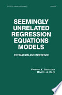 Seemingly Unrelated Regression Equations Models