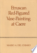 Etruscan Red figured Vase painting at Caere