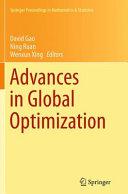 Advances In Global Optimization book
