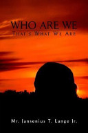 Ebook Who Are We Epub Jansenius T. Lange Jr. Apps Read Mobile
