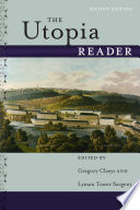 The Utopia Reader  Second Edition
