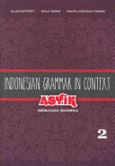 Indonesian Grammar in Context