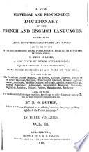 Dictionnaire nouveau et universel