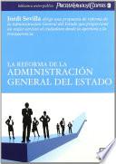 La Reforma De La Administraci N General Del Estado
