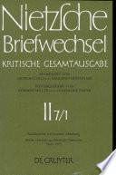 Nietzsche Briefwechsel