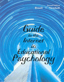 Guide to the Internet in Educational Psychology