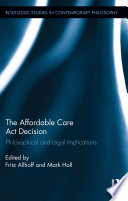 The Affordable Care Act Decision