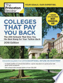 Colleges That Pay You Back  2018 Edition