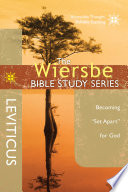 The Wiersbe Bible Study Series  Leviticus