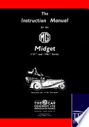 The Instruction Manual For The Mg Midget P And Pb Series