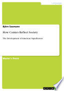 How Comics Reflect Society Free download PDF and Read online
