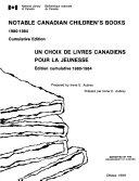 Choix de Livres Canadiens Pour la Jeunesse