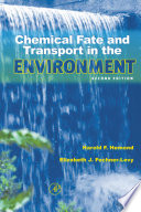 illustration du livre Chemical Fate and Transport in the Environment
