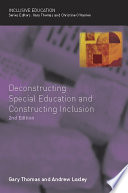 Deconstructing Special Education